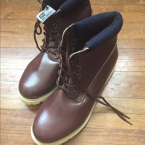 Men's Rue 21 brown lace up boots